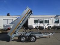 EDUARD 2615 ALU TANDEM KIPPER 256x150x30cm 750 kg
