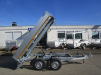 EDUARD 2615 ALU 2x750kg-Achsen TANDEM 256x150x30cm 750 kg