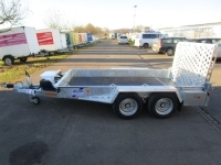 Ifor Williams GH 1054 Baggertransport 305x163cm 3,5t