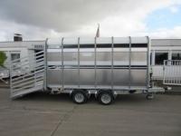 Ifor Williams DP 120 Hochlader Vieh 311x189x182 cm + ZGG 3500 kg