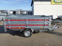 Temared Hochlader 2615 Stahl  + Aufsatz 260 x 150 x 60 cm 1,3 t
