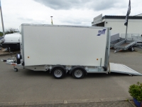 Ifor Williams BV 125 RAMPE-/Türekombi 364x147x183cm 2,7 t