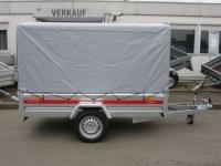 Tema Pro 2612 mit Hochplane 263 x 125 x 135 cm (+Spitze) 750 kg