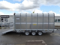 Ifor Williams DP 120 434x189x182cm 3 Achser 3,5 t