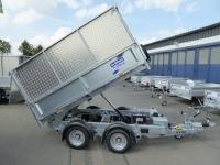 Ifor Williams TT 2515 STAHL 2,46x1,49m + ALU-AUFSATZ ELEKTRO-/Handpumpe
