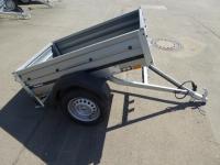 Brenderup 1150 Stahl 144x93x35cm 500 kg