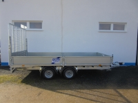 Ifor Williams LM146 B Rampe 183cm STAHL 4,23x1,98x0,35m 3,5t