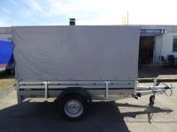 Brenderup 2260 Stahl 2,58x1,28m 1,3 t + Hochplane 150 cm
