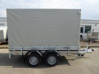 Brenderup 2300 Stahl 3,01 x 1,53 m 2000 kg mit Hochplane 190 cm