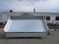 EDUARD 3116 Alu 310x160x30cm ELEKTROPUMPE Ladehöhe 72 cm 2,5t