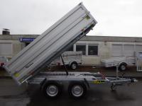 Debon PW3 LUX ELEKTRO 330x180x35cm + Alu-Bordwandaufsatz 3,5 t