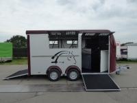 Optimax / MAX 4 4Pferde-Schrägsteher+SATTELRAUM+Pullmann2 100km/h 3,5t