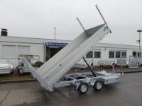 TwinTrailer 27-30 Kipper+ Maschinentransporter Elektro 3,09x1,83m 2,7 t