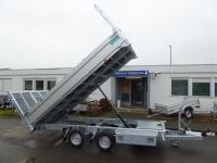 TwinTrailer  TT 30-30 Kipper+ Maschinentransporter Elektro 3,09x1,83m 3t