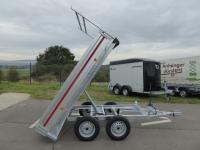 TANDEM KIPPER Handpumpe 260x150x30cm 750kg VORRAT