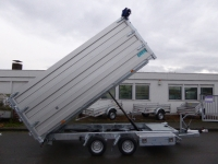 TwinTrailer  TT 35-40 ElektroFB+Bordwände Modula 140cm + Extras 4,02x1,92x1,40m