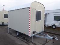 Hochwertiger Bauwagen Weiro RASANT BME-C21S 350x220x230cm 1,35 t incl. Fracht !