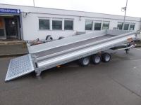 VEZEKO Jumbo max 35.5 3 Achsen PROFI-Universaltransporter kippbar 5,15x2,47x0,35m 3,5 t