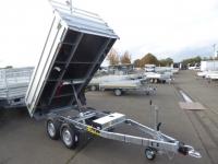 Debon Kipper PW 1.2 LUXUS EPumpe + Bordwandaufsatz 3,05x1,60x60m 2 t