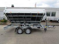 VEZEKO JuKi 3-Seitenkipper+ankippbarer Transporter 3,50 x 1,85 x 0,35 m 3t
