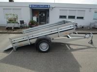 Brenderup 2260 S KIPPBAR klappb Vorderwand 2,58x1,53x0,40m 750 kg ungebremst
