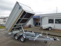 EDUARD Kipper 3116 Elektro/Handp. ALU-AUFSATZ Plane 310x160x110cm 2,7 t