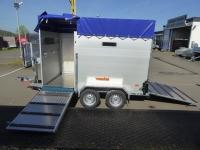 Vezeko Viehtransporter ALU VT 2000 KOMBIRAMPE + Extras 295x160x190cm VORRAT