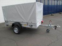 Koch Hobby 1200 kg 2,50 x 1,25 m + ORIGINAL KOCH-PLANE 130 cm