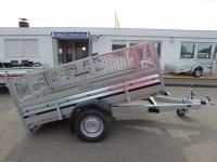 Brenderup 2260 S KIPPBAR + Klappe vorne 1,3 t 2,58 x 1,53 m