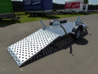 Vezeko Motovan + breite Klapprampe 2,45x1,06m 750 kg VORRAT