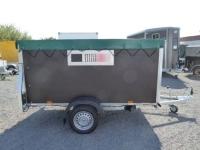 AGRA 252x125x120cm + KOMBI-Heckrampe/-türe + Extras 750 kg