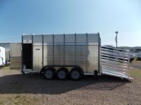 Ifor Williams TA 510 G 14 Rampe-Türe + 3 Achsen + ZGG 3500 kg