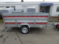 Tema North KIPPBAR 2612 Stahl + abnehmbarer Aufsatz 263x125x75 cm 750 kg