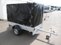 Unsinn K 821-13-1100 Alu + Hochplane  2,10 x 1,10 x 1,30 m