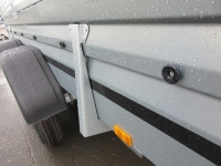 Brenderup 2300 S 2,0t TANDEM klappbare Vorderwand + Gitteraufsatz