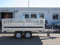Brenderup 4310 TB ALU NEUES MODELL Hochlader 3,09x1,69m 2 t
