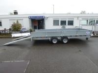 Ifor Williams LM167G  Stahl + Rampenschacht 4,77x2,25x0,35m 3,5