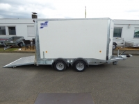 Ifor Williams BV 106 RAMPE/Türekombi 303x173x183cm 3,5t